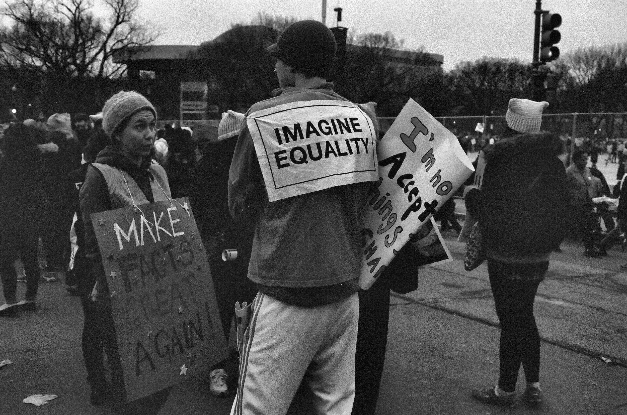 WOMEN'S MARCH IN DC
