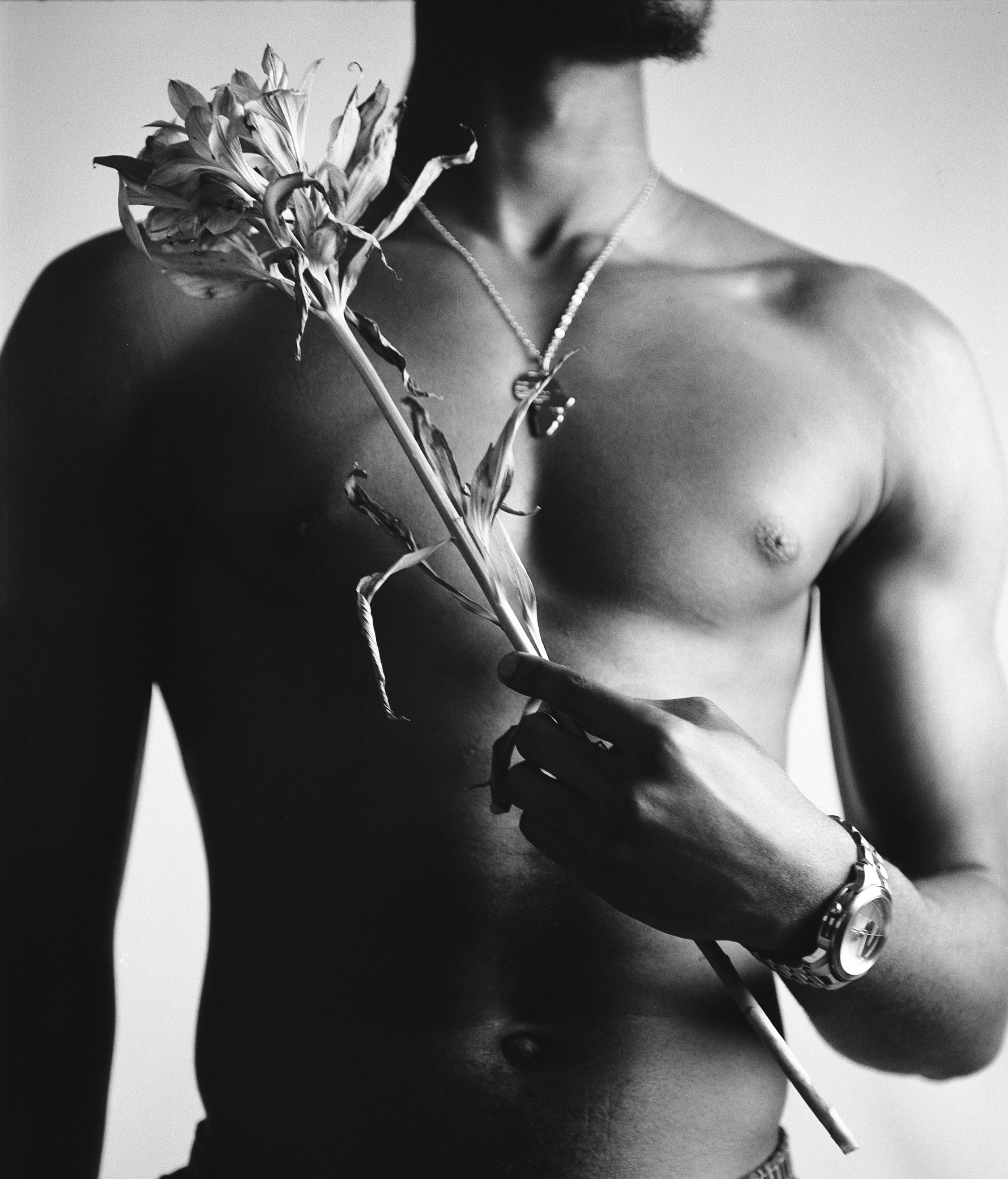 We portrayed a balance between masculinity and femininity. How do you feel about the stereotypes associated with the masculinity of the black man? - The unspoken guidelines to being a black man are harsh to say the least. The importance of the individual has even completely shrouded by hyper masculinity and in this day and age, our entire society must grow past that and treasure any black man for who he is regardless of whether he follows those unspoken guidelines or not. There are many traits that make a man a man, not just what the world or the media tells you it is.