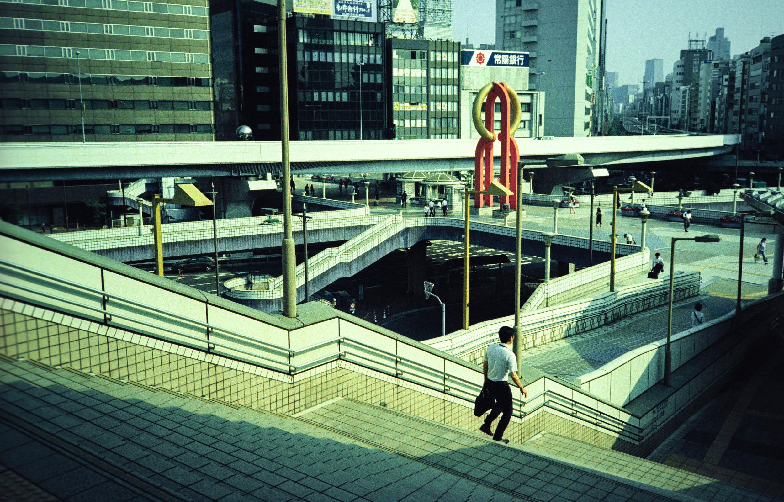 Some of Roger's film photographs of Ueno Station (Tokyo, Japan)