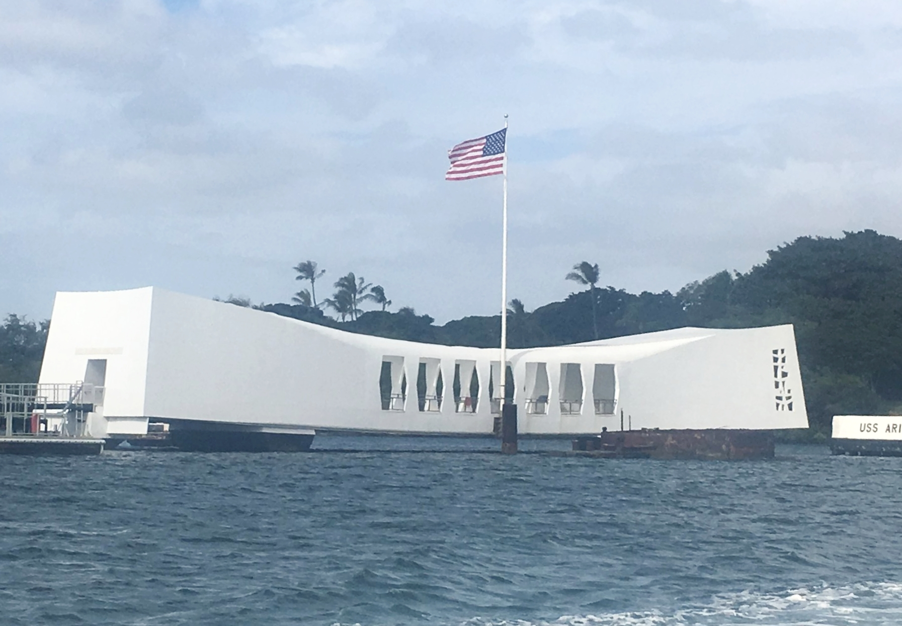 Arizona Memorial at Pearl Harbor