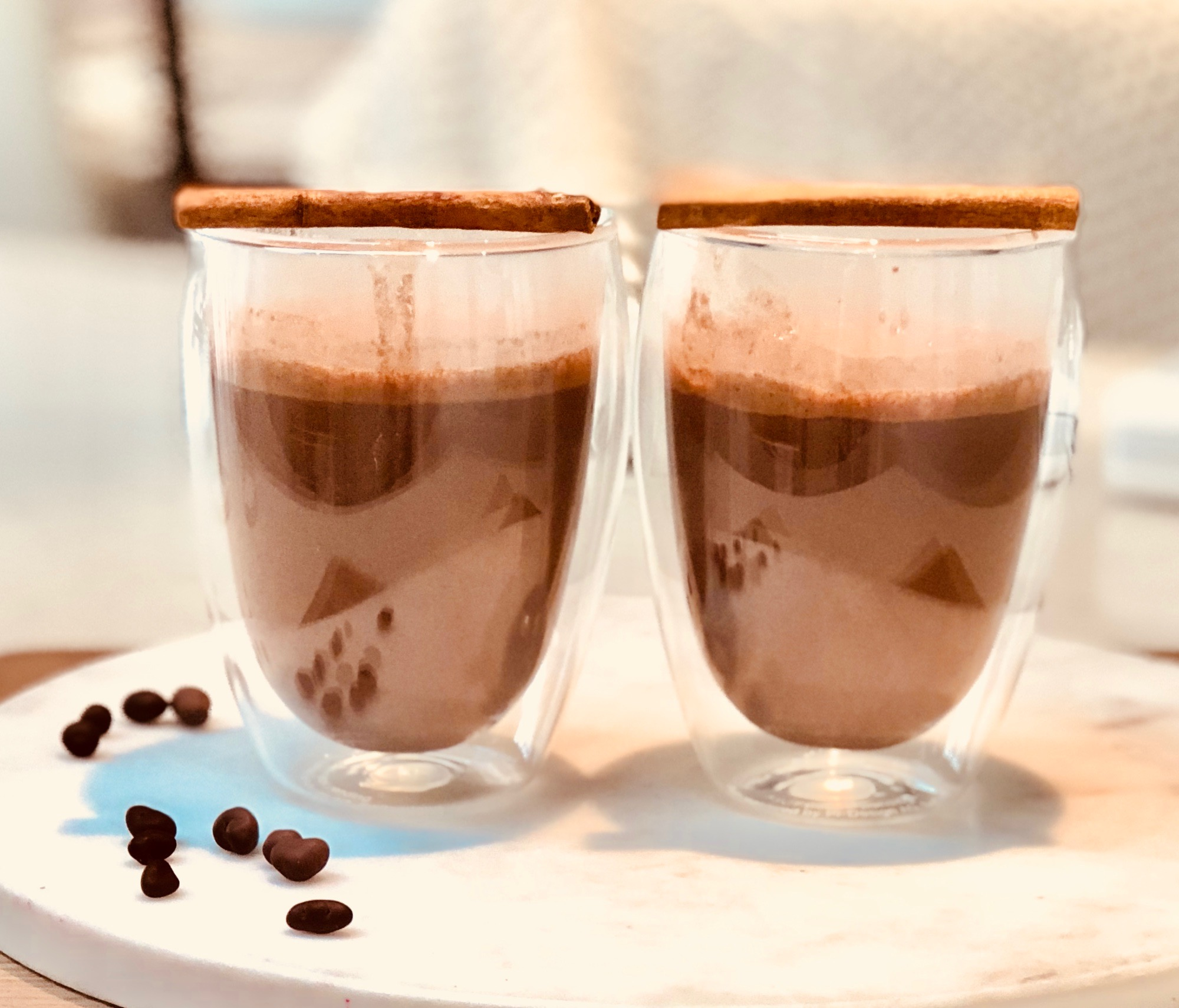 - Ingredients1 cup non-dairy milk of choice (when I'm not making my own which is SO easy that's for another post, I like @almondmilkco or @pureharvest if needing a supermarket UHT option) 1 tbs quality cacao (I like @loving_earth and @powersuperfoods)1 tsp carob½ tsp maca1 tbs collagen (I like @greatlakesgelatin or @thebeautychef ) ¼ tsp of cinnamon and ½ tsp ground vanilla/pure vanilla extract6 drops pure liquid stevia or unrefined sugar sweetener of choice eg maple syrup, mesquite, lucuma)Pinch sea salt1 cheeky tbs coconut or almond butterMethodBlend or whisk together and warm on stove until hot enough to drink.TIP: I just put this in the nutribullet and it was lovely and creamy!