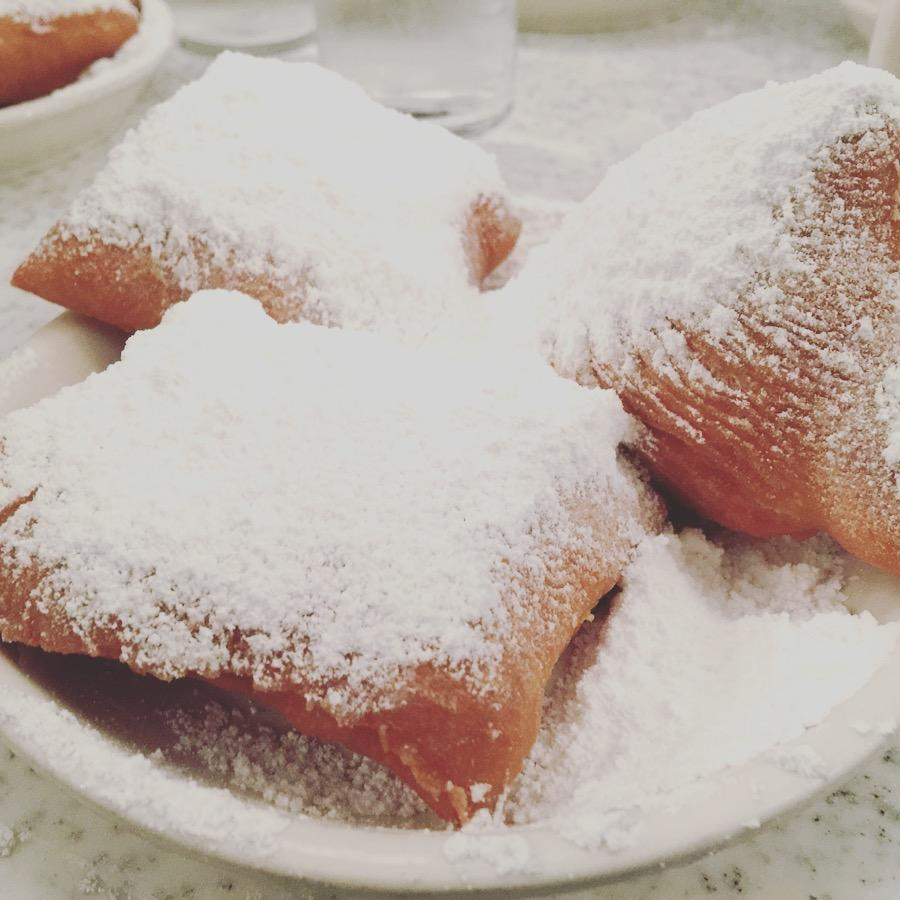 Make sure you go to Cafe Du Monde and order the Beignets. Heaven on Earth I swear.