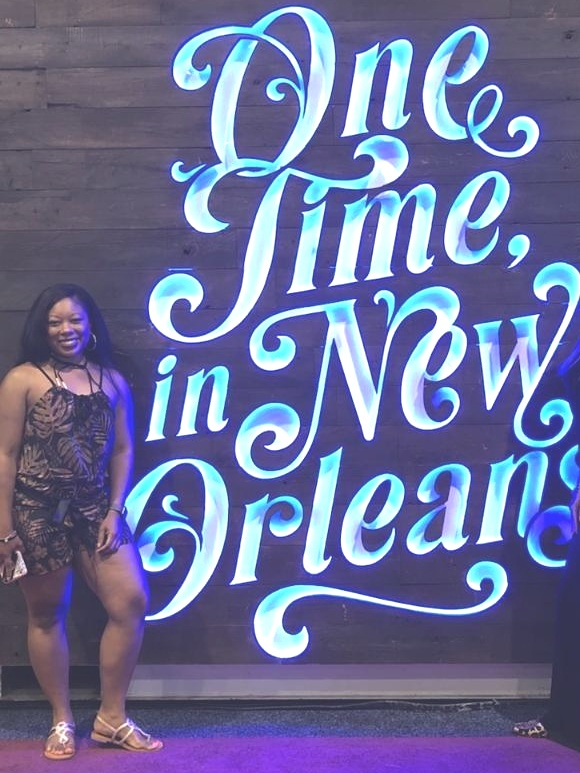 Hey guys! Since the Essence Fest is right around the corner I thought I would share my past experience with you guys. First off, I had an amazing time at the festival. It's hard to put into context the vibe that was in New Orleans that weekend. I saw so many melanated beauties of all shapes, sizes, and ages living their best lives. So many different hairstyles, bold jewelry and vibrant color schemes from makeup to the outfits, etc. Oh, and I can't forget about the amazing food! I had authentic Gumbo and Jambalaya for the first time and… BEIGNETS which were absolutely amazing!  We stayed at the Ace Hotel which I would highly recommend. They had celebrities staying there. They also have a club, a cafe, and a restaurant. Did I mention the Prince room? Yes, they have a room decorated with nothing but Prince décor which was amazing.  -Okay, so enough of all of that let's dive right into what you can expect there:   -Expect a lot of walking  - I suggest wearing some cute, but comfortable flats or if you insist on wearing heels make sure you pack some sandals tin your purse to change into.   -t's an unreal type of heat in New Orleans  - It is extremely humid. Maxi dresses, rompers, and light clothing will be your best friend. Make sure you bring an all-white outfit. There will most definitely be an all-white party to attend. Also, bring black clothes…there was an all-black party as well.   -Do not expect to see every single show, or private screening for television shows, or visit every single booth at the Convention Center  - It just won't happen. Try to pick what events and booths that have your favorite celebrity that you really want to see and go from there. The same goes for the shows at the Super Dome. There will be shows going on the Main Stage at the exact same time as another one of your favorite singers. Choose wisely lol. We missed some surprise guest performers because we were in the Super Lounge instead trying to see Idris Elba DJ. However, I got to see Janet 