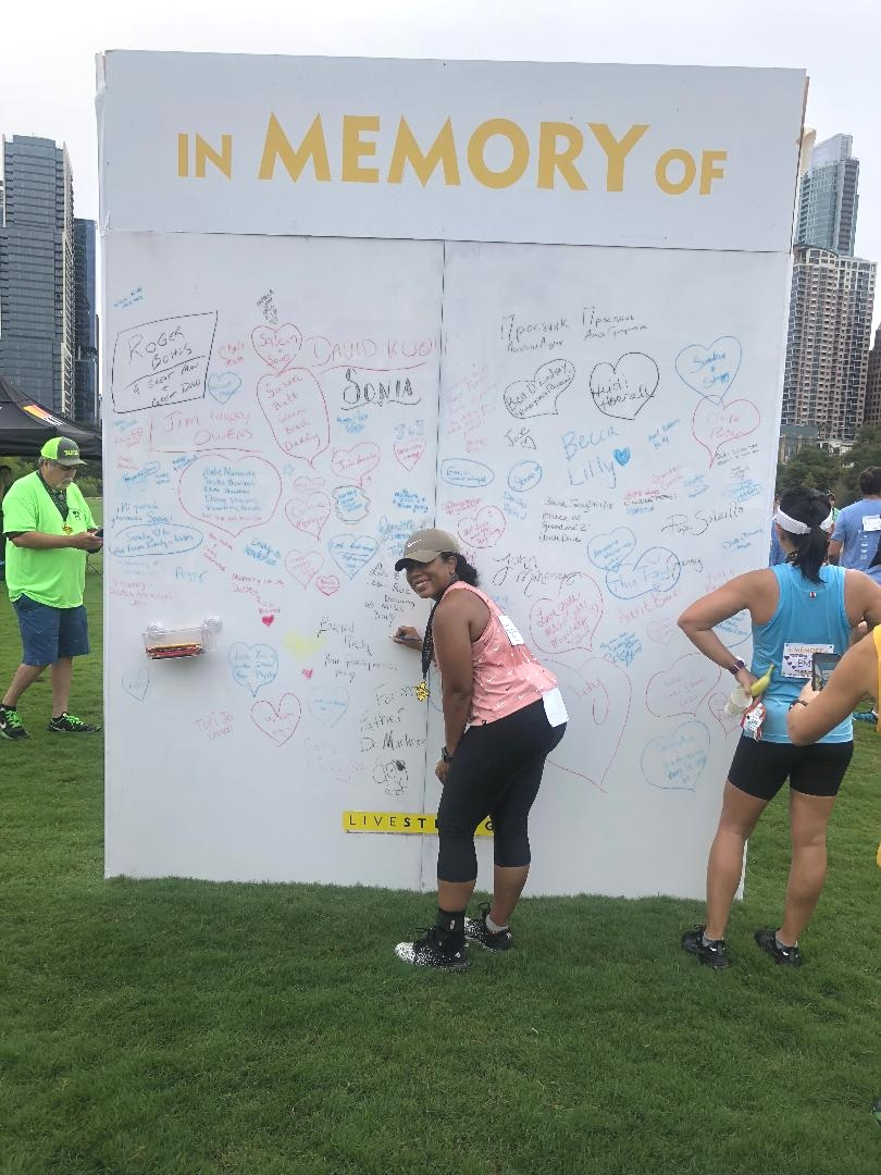 For my dear friend Kim, and my daddy RIP. The marathon continues…