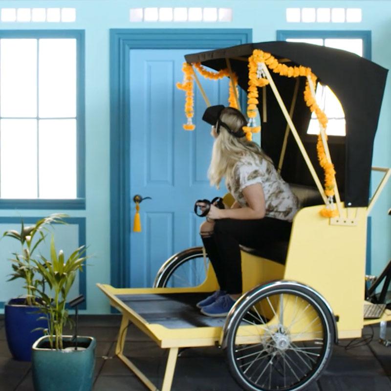 virtual reality activation - SIngaporEAirlinesvirtual tour