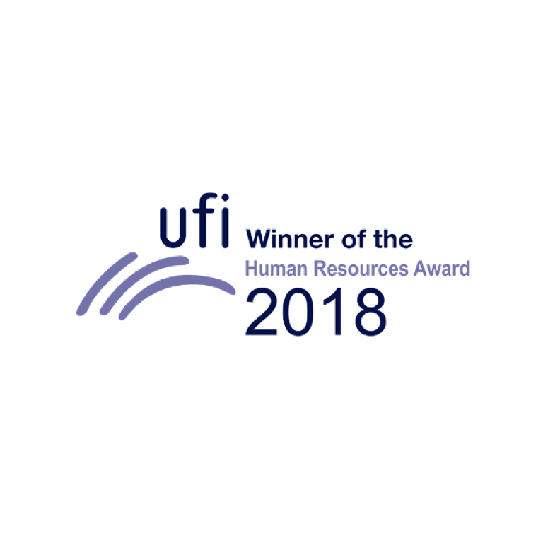The Global Association of the Exhibition Industry (UFI) Awards 2018   Human Resources Award