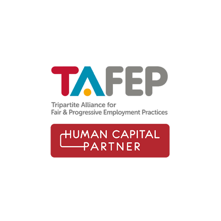 Ministry of Manpower/TAFEP   Human Capital Partnership Programme Partner