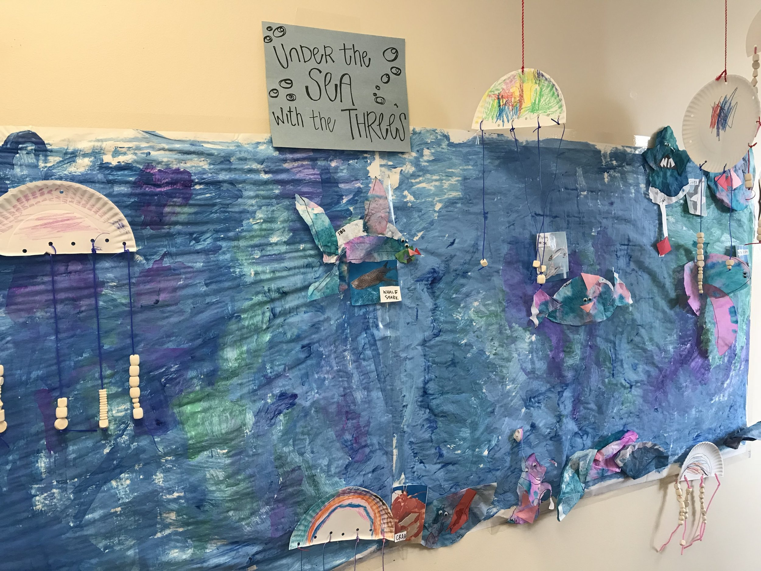 Under the Sea: Learning about the environment in a fun & creative way