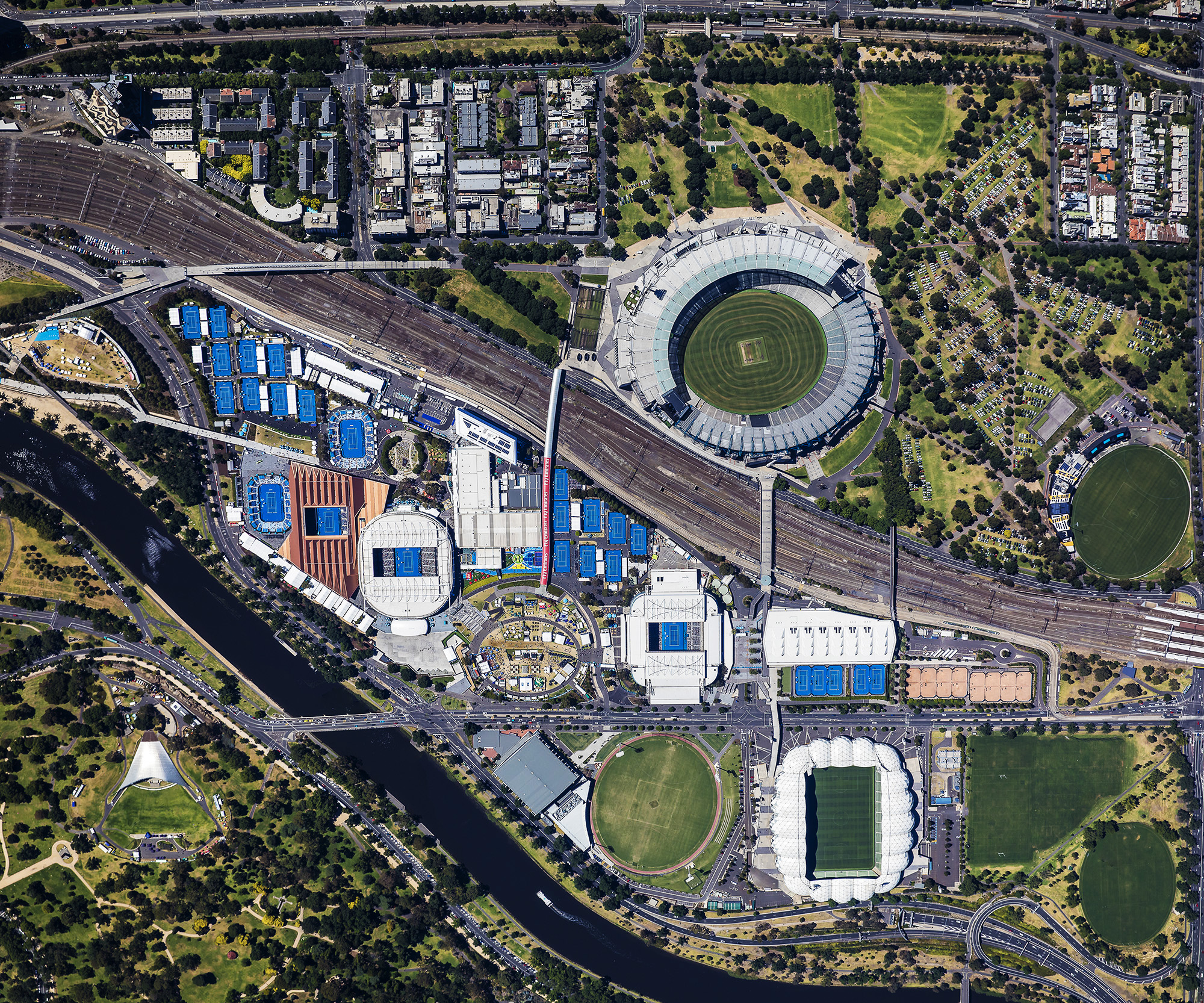 Melbourne and Olympic Parks 2017