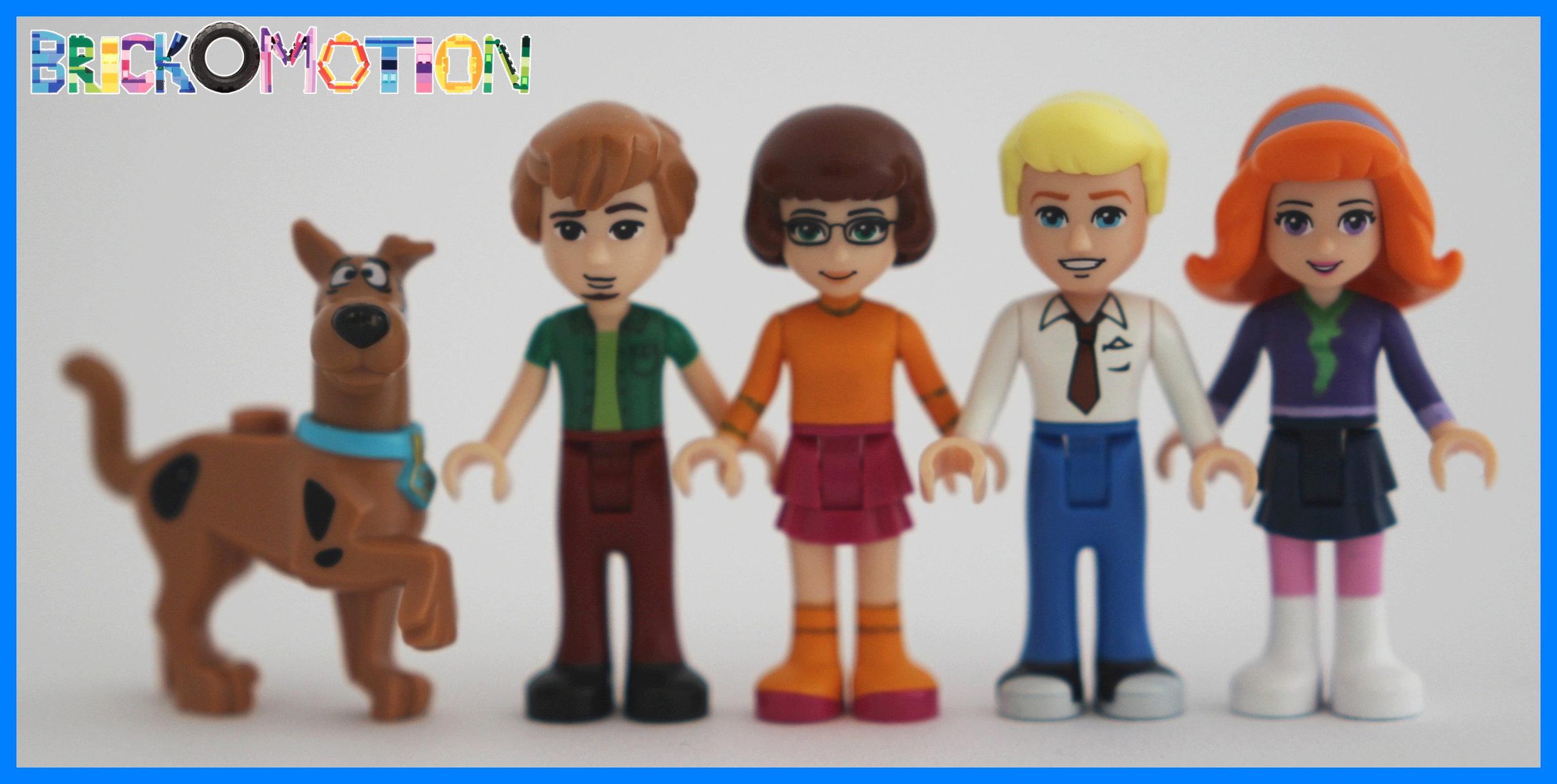 Mystery Inc.: Scooby Doo, Shaggy, Velma, Fred and Daphne