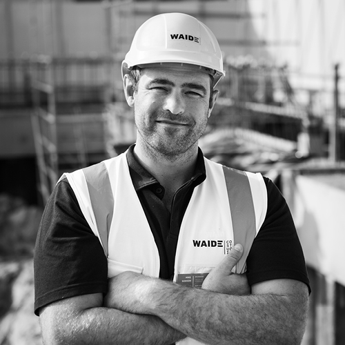 Mike Dawson Site Manager