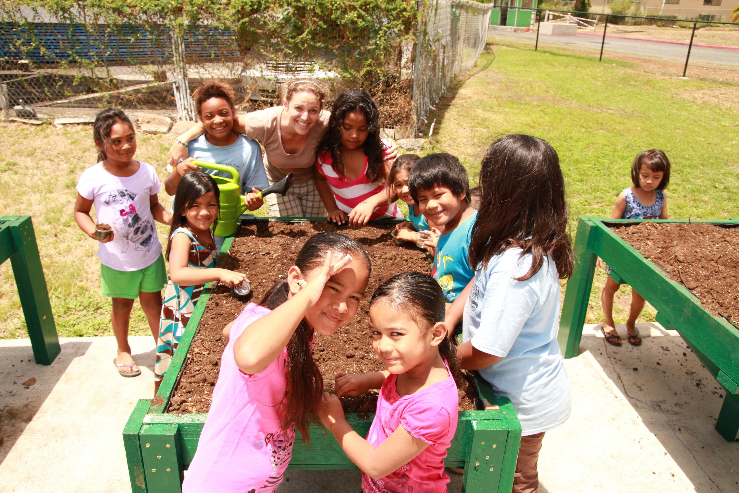 Community Garden Workday Local Schools Roots KKV