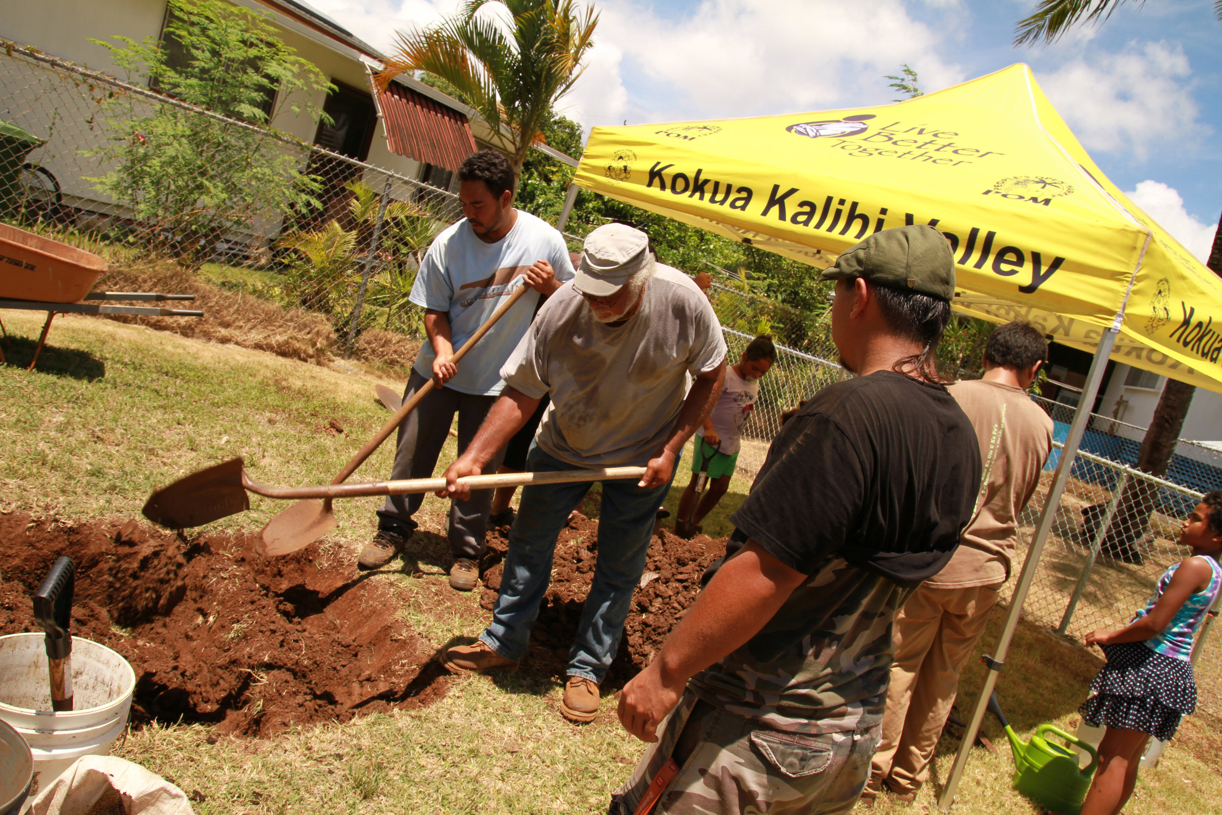 Community Garden Workday Roots KKV