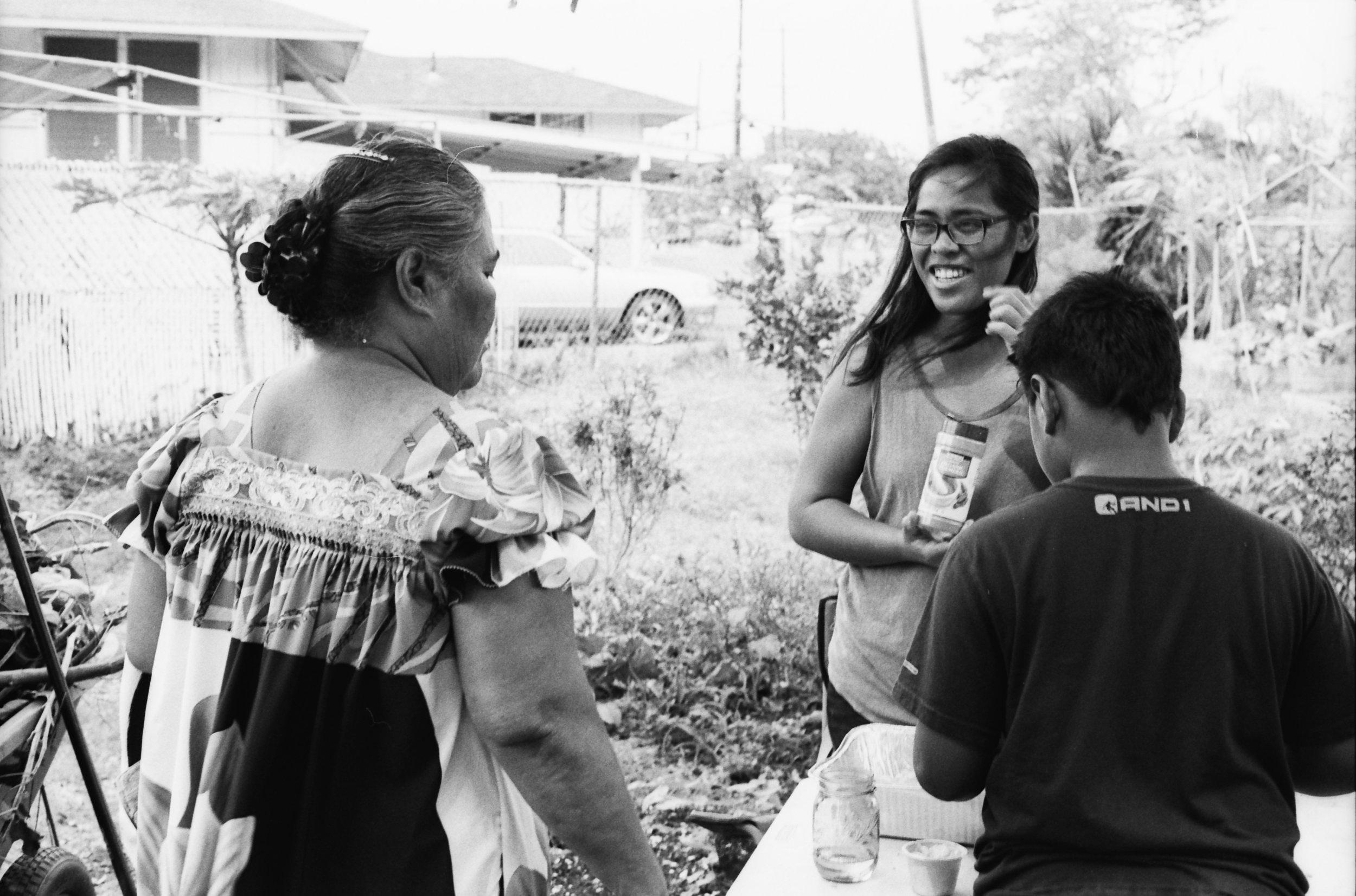 Mala O Kaluaopalena Community Garden at the Towers at Kuhio Park housing community