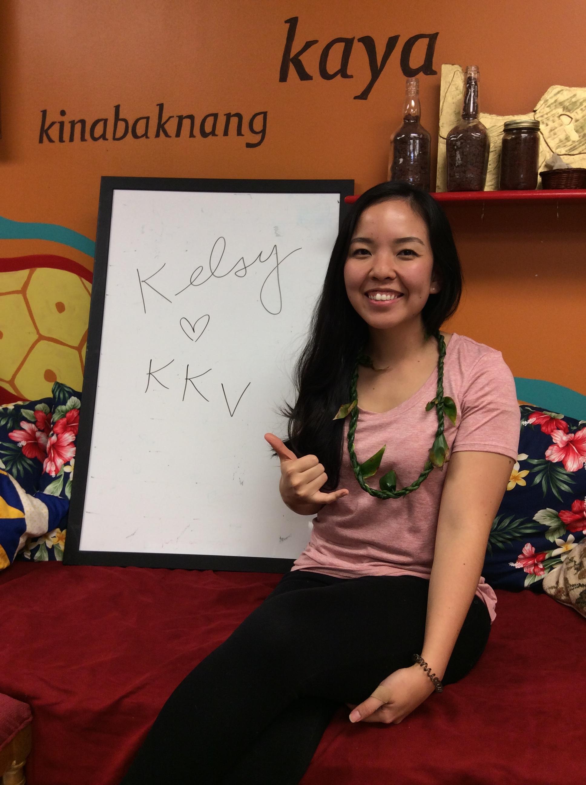 Kelsy Saruwatari  (November - December 2017)