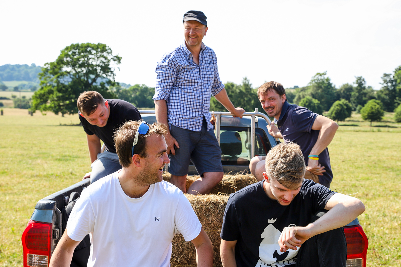 The Green Park Brasserie team at Newton Farm, Bath