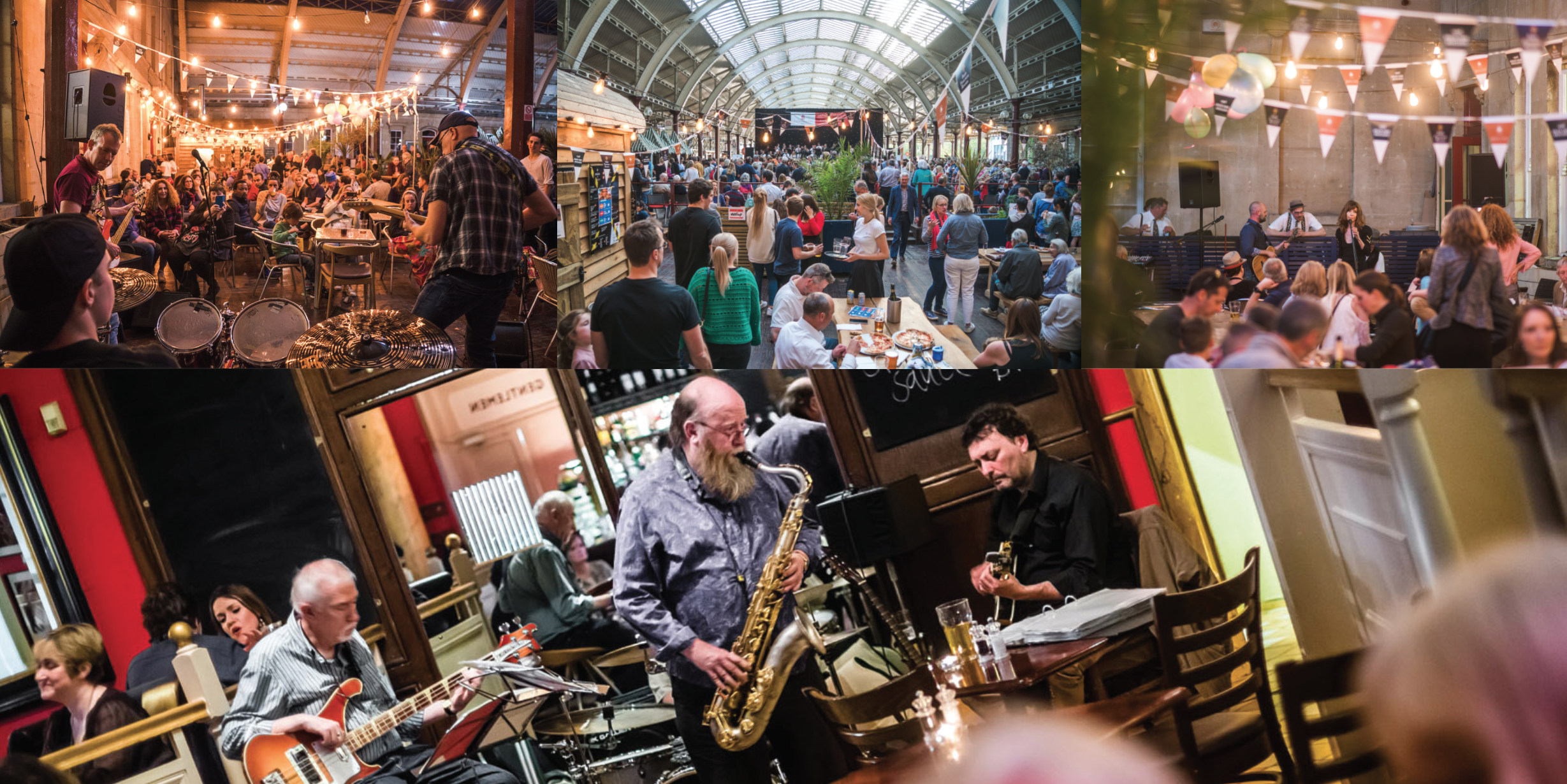 Live music at Bath Pizza Co and Green Park Station