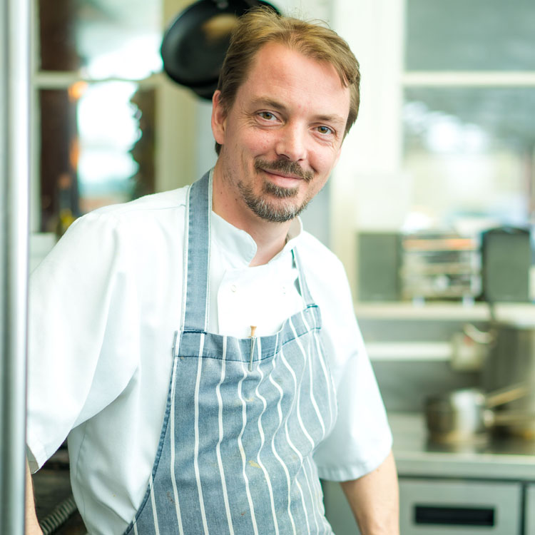 Green Park Brasserie Head Chef, Steve Derry