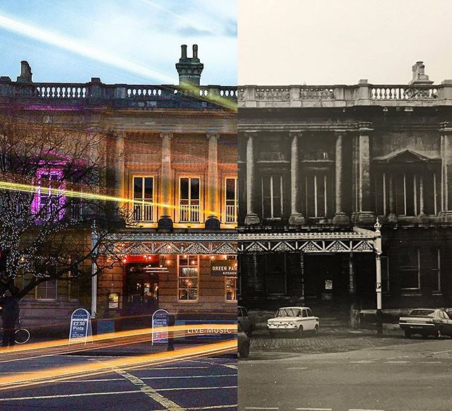 Then & now. We love being part of Green Park Station's history 🚂 #historicbuildings #historicbuilding #restaurant #trainstation #livinghistory #history #historylovers #architecture #architecturephotography #thenandnow #transformationtuesday #bathuk #historical #oldbuilding #cityofbath #igersbath #batheats #visitbath #architecturephotography #symmetry #symmetrical #oldandnew #greenparkstationbath #historygram #historygreek #amazingplaces #urbanphotography #historicengland
