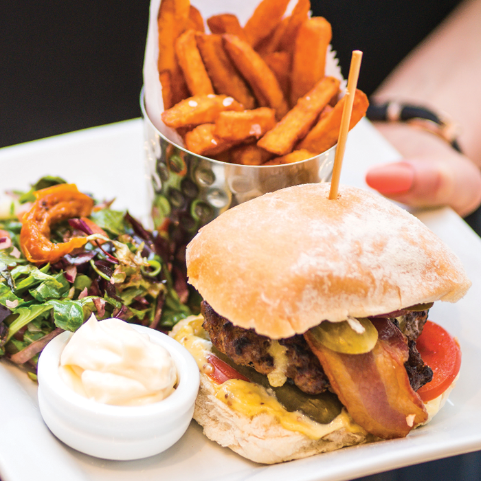 The Brasserie Burger