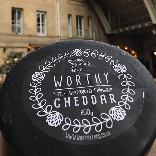 🧀 Best. Cheddar. Ever. @worthy_food_to_nourish #localproduce #swisbest #cheese #cheddar #cheddarcheese #cheeseboard #cheeseburger #cheeselover #cheeselove #cheeseplate #cheeselovers #local #localproduce #localcheese #localfood #cheeseporn #brazkitchen #worthyfarm #worthyfarmcheese #batheats #bathdrinks #foody #foodies #oldrailway #oldtrainstation #cheeseaddict
