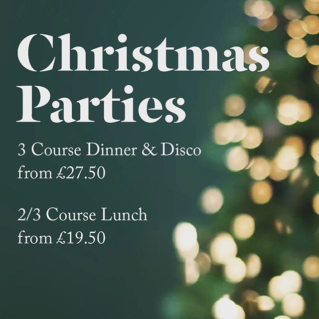 🎄We've a handful of dates available for our famous Christmas Parties. Enjoy our 3 course dinner & disco or a festive 2/3 course lunch from £19.50! #christmas #christmaslunch #christmasday #christmastree #party #visitbath #batheats #bathdrinks #bathlife #bathuk #christmasdisco #disco #dj #christmasiscoming