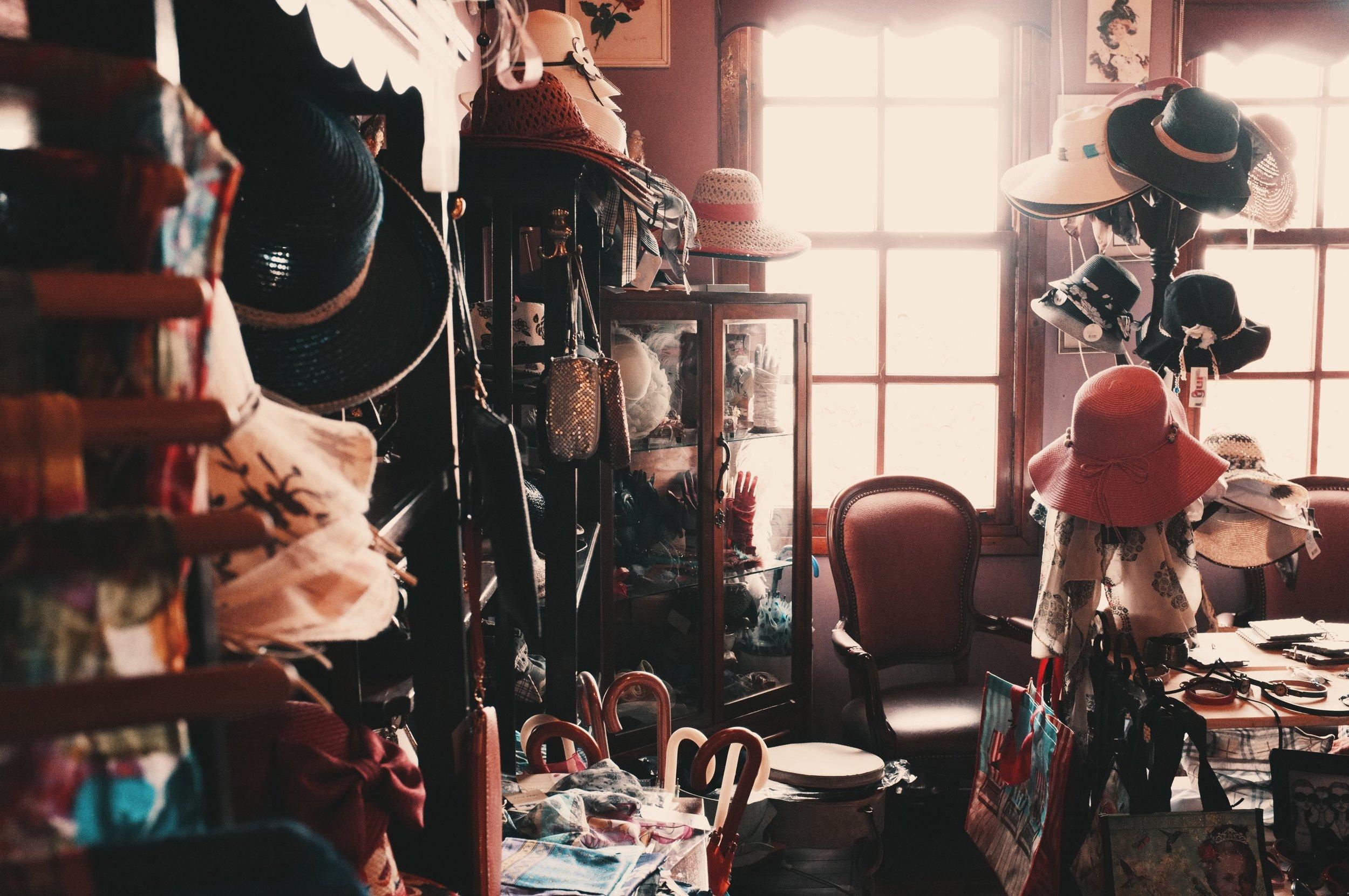 Messy room hoarder