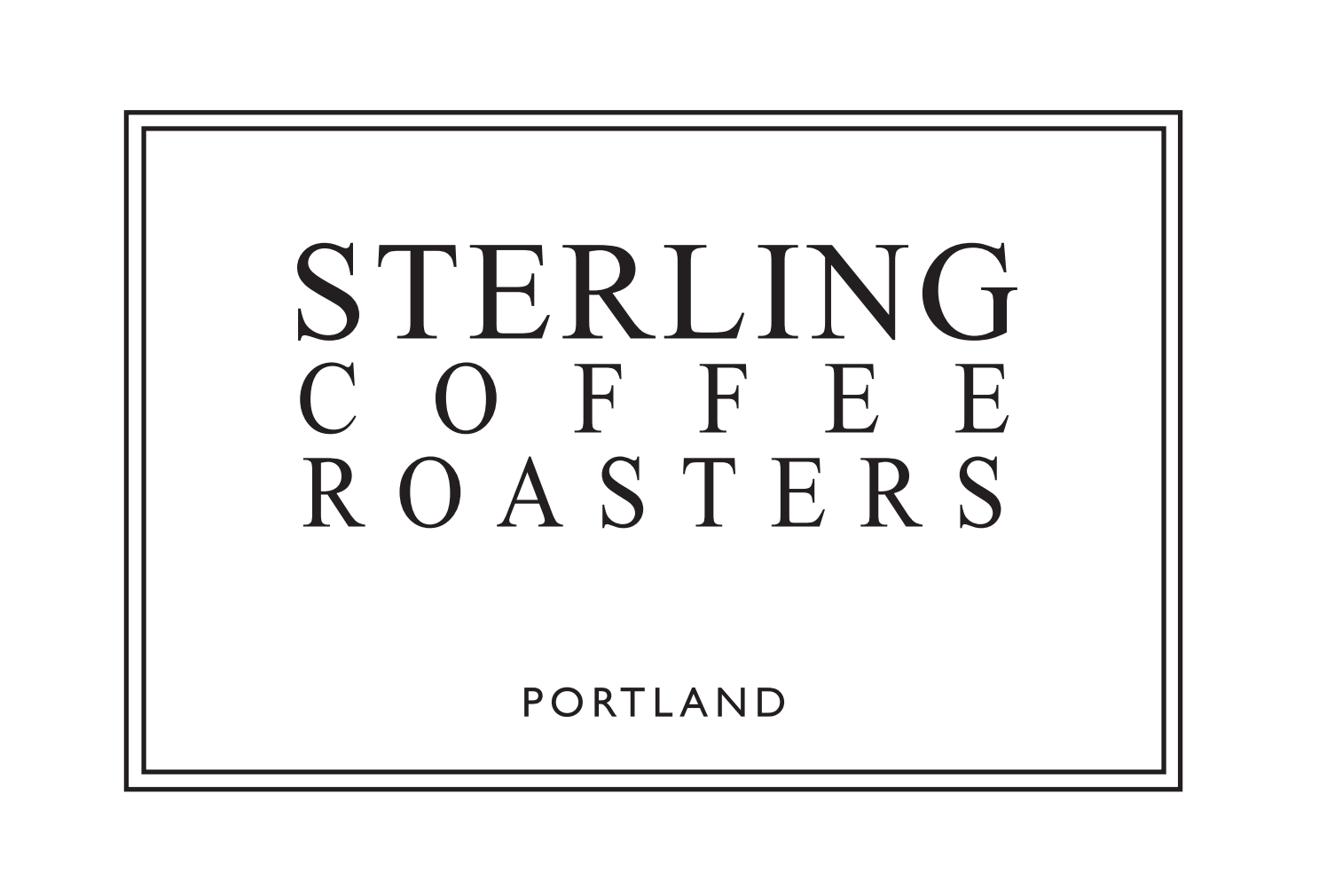 Logo and PR: Sterling Coffee Roasters, 2011