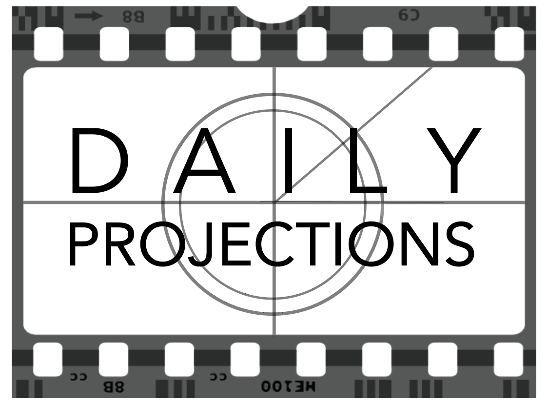 Logo: Daily Projections, August 2016