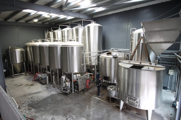 Our 80 hecto litre brewery in Trim, Ireland