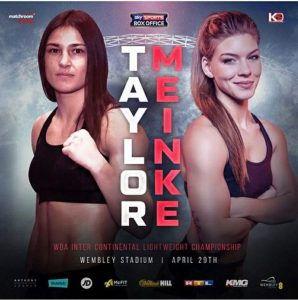 Katie taylor V Nina Meinke Live at BRÚ House, Saturday fight night