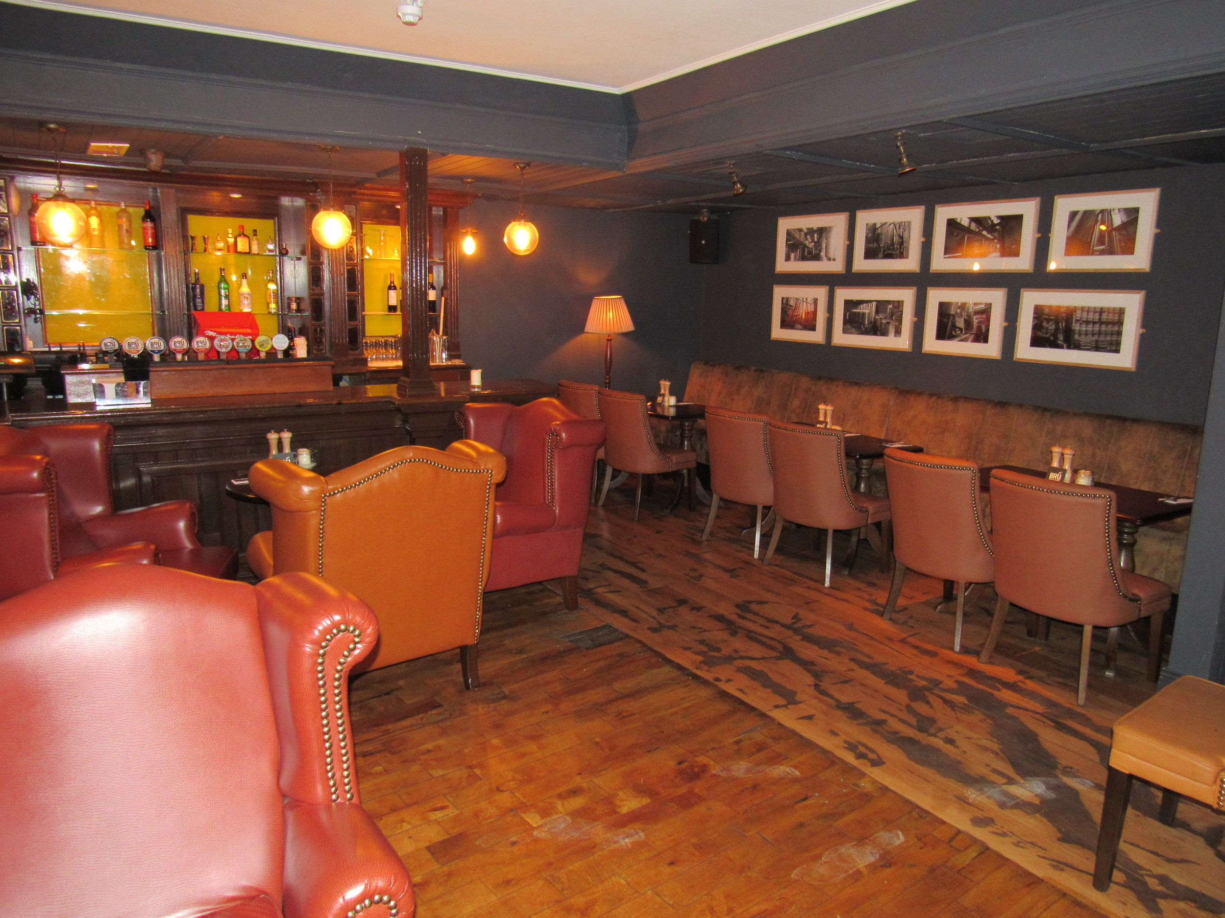 bru house pub, party venue in dublin 3