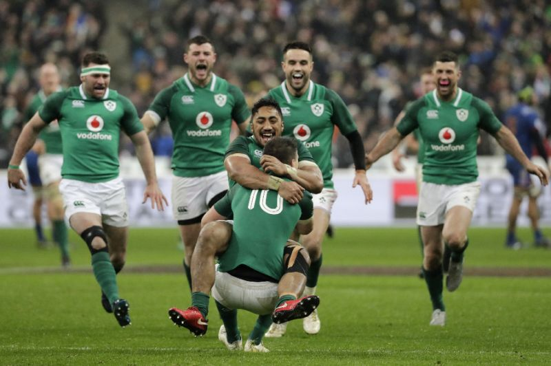 Victory for Ireland at Twickenham Stadium 2018