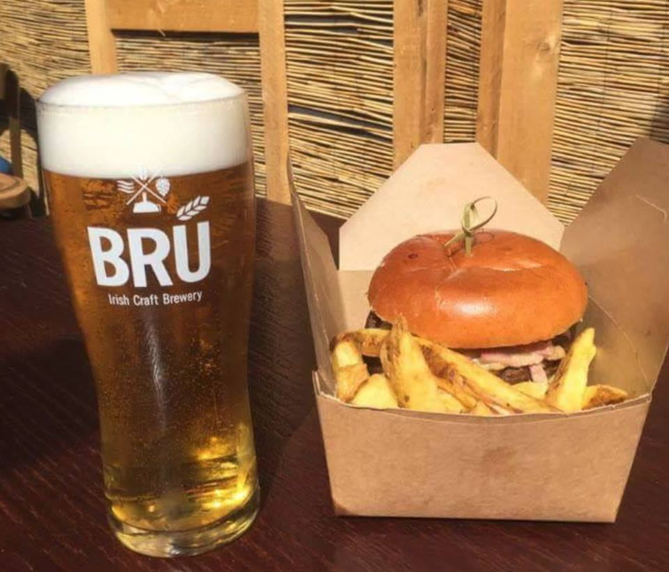 FRONT BAR DEALS - Sitting in the bar? Hungry? We've got you covered.ANY BURGER AND CHIPS* AND PINT OF BRÚ DRAUGHT - JUST €15.50BRÚ PINT & CHICKEN WINGS €10.50BRÚ PITCHER AND CHICKEN WINGS €20.50MONDAY MADNESS - ALL BRÚ DRAUGHT €4 ALL NIGHT***Food served in the bar is in a take away box. All pints included are BRÚ draught only, guest ales are not included. Pitcher is just over 3 pints.**Not valid on bank holiday Mondays.