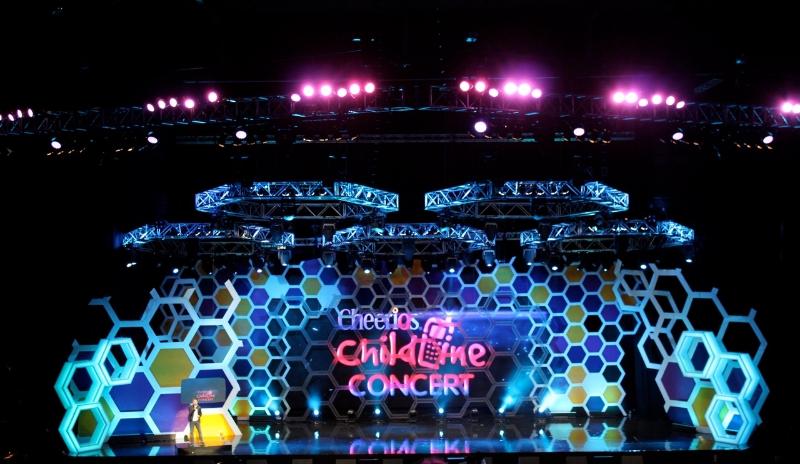 Childline Concert, Fiona Cunningham POV Design for ISPCC