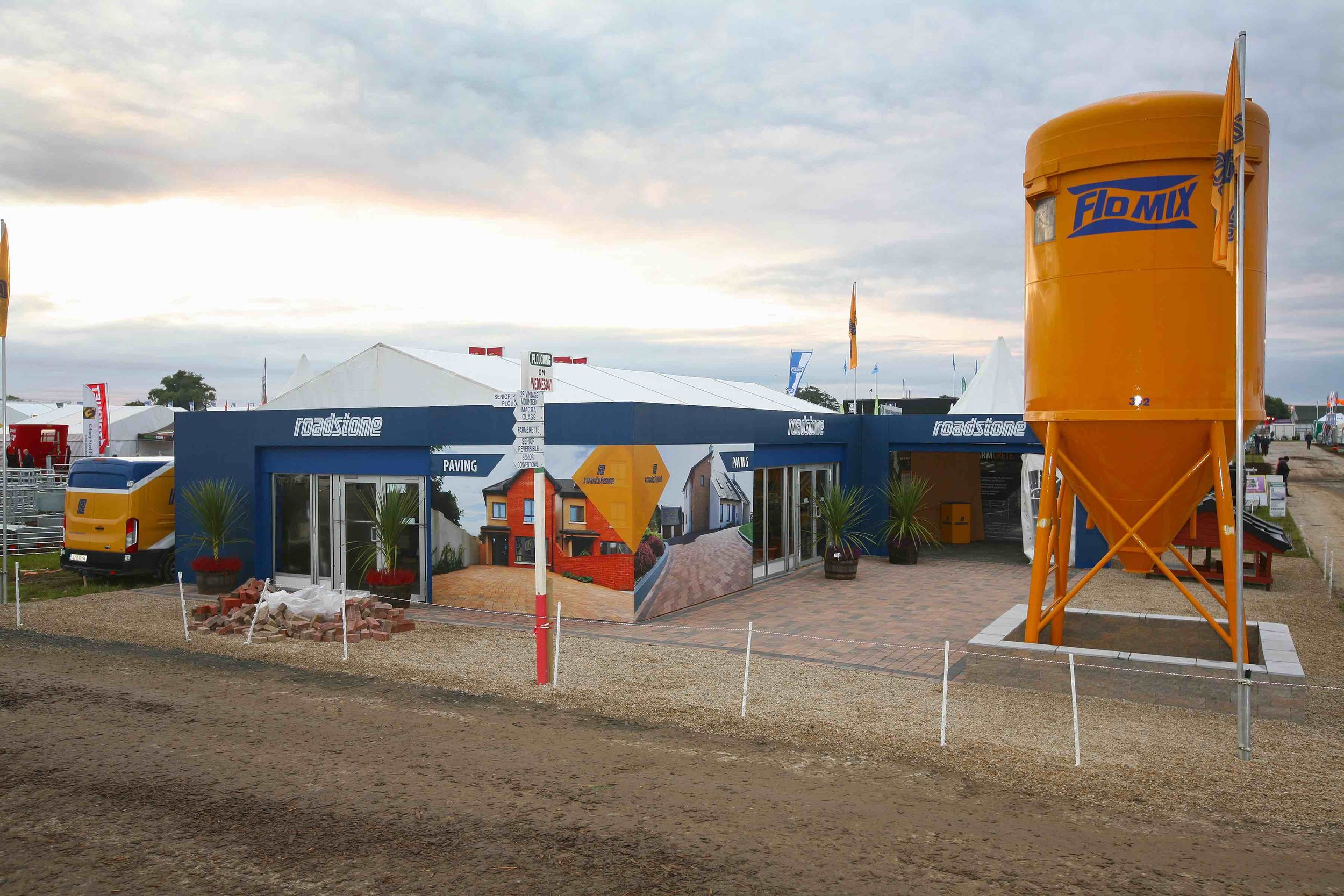Roadstone Exhibition Stand at The National Ploughing Championships 2017