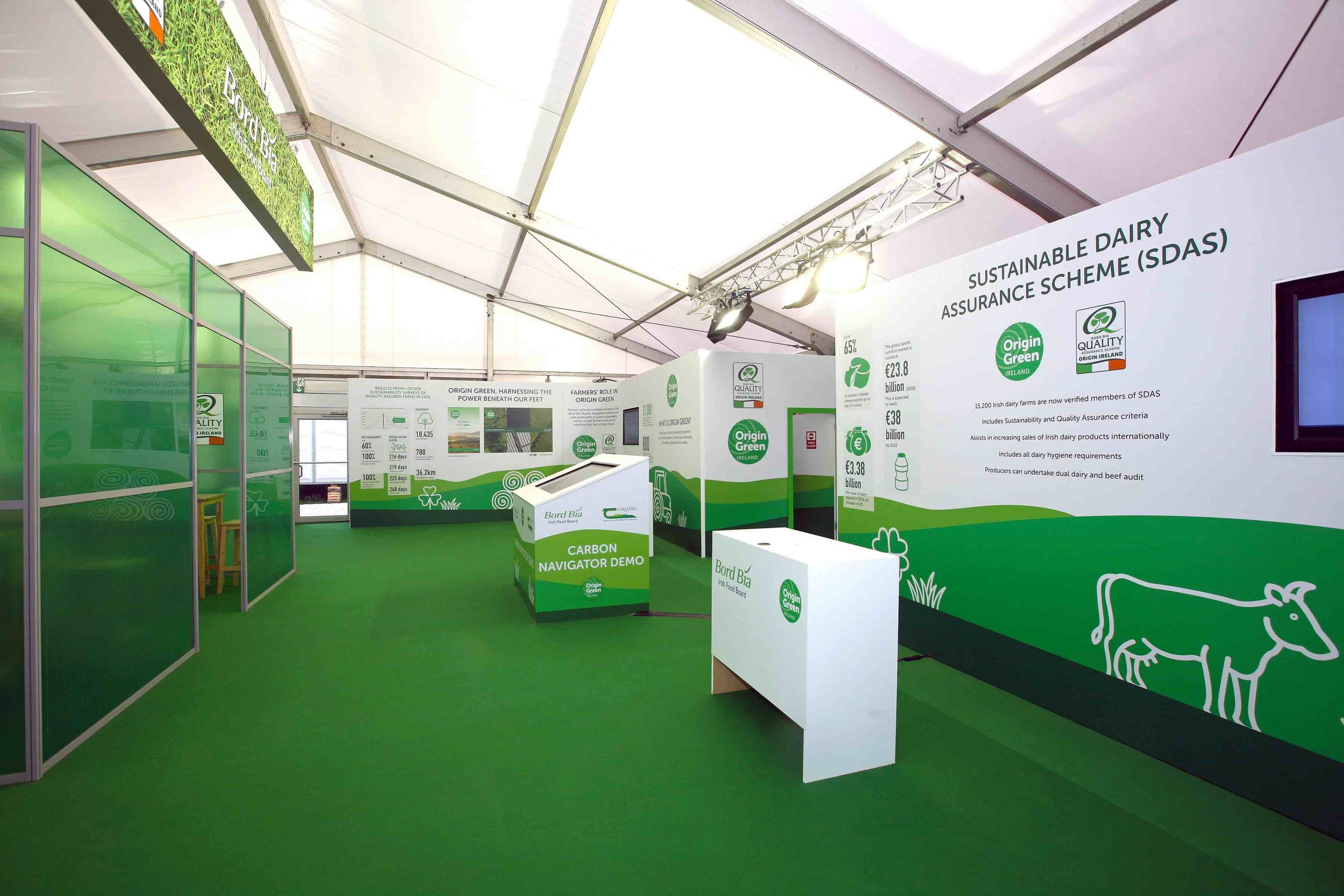 Bord Bia Exhibition Stand at The National Ploughing Championships 2017