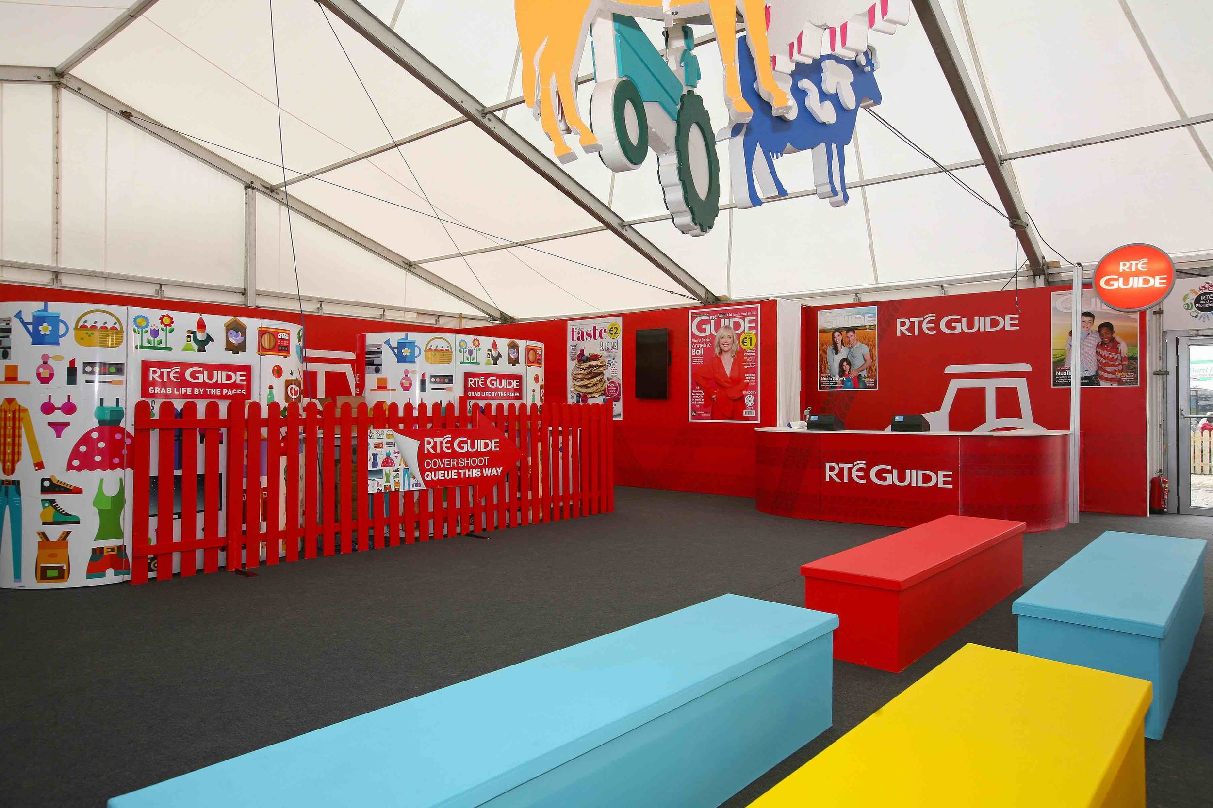 RTÉ Exhibition Stand at The National Ploughing Championships 2017