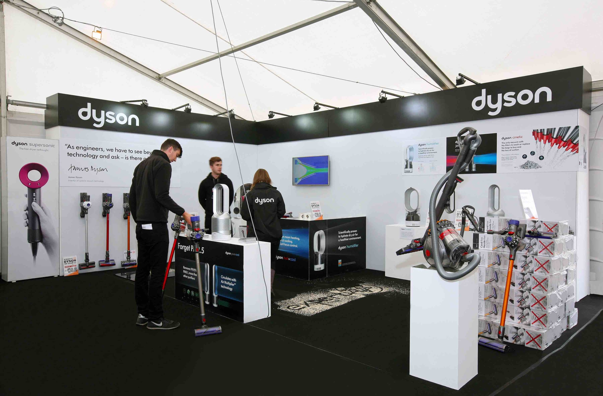 Dyson Exhibition Stand at The National Ploughing Championships 2017