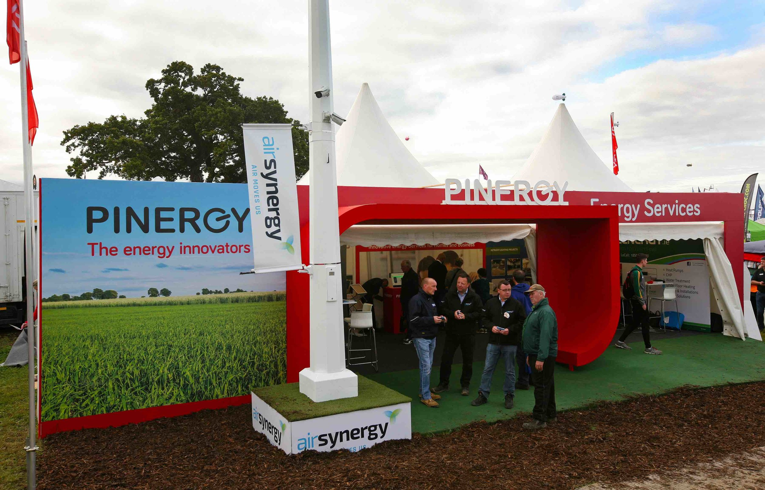 Pinergy Exhibition Stand at The National Ploughing Championships 2017
