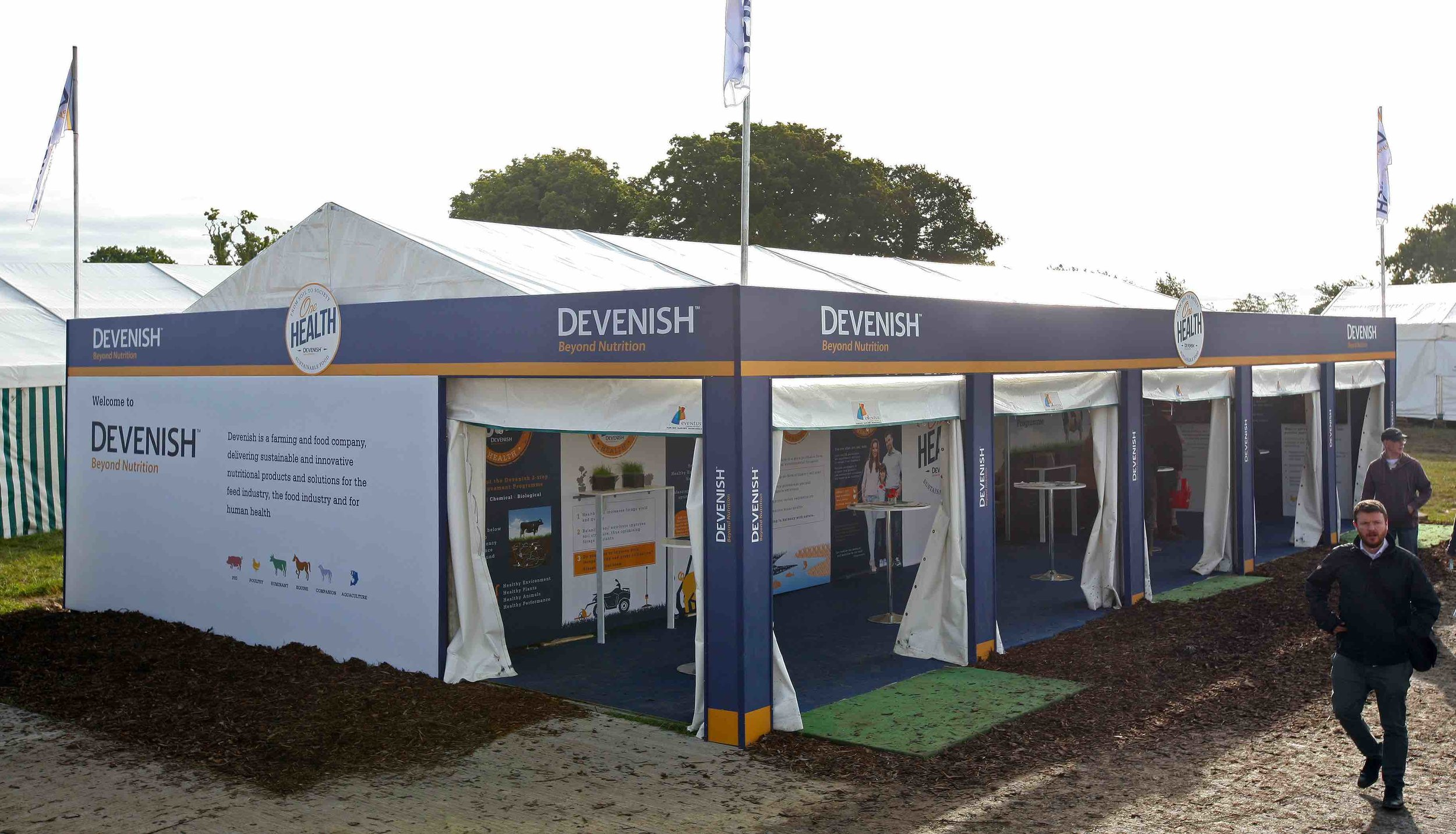 Devenish Exhibition Stand at The National Ploughing Championships 2017
