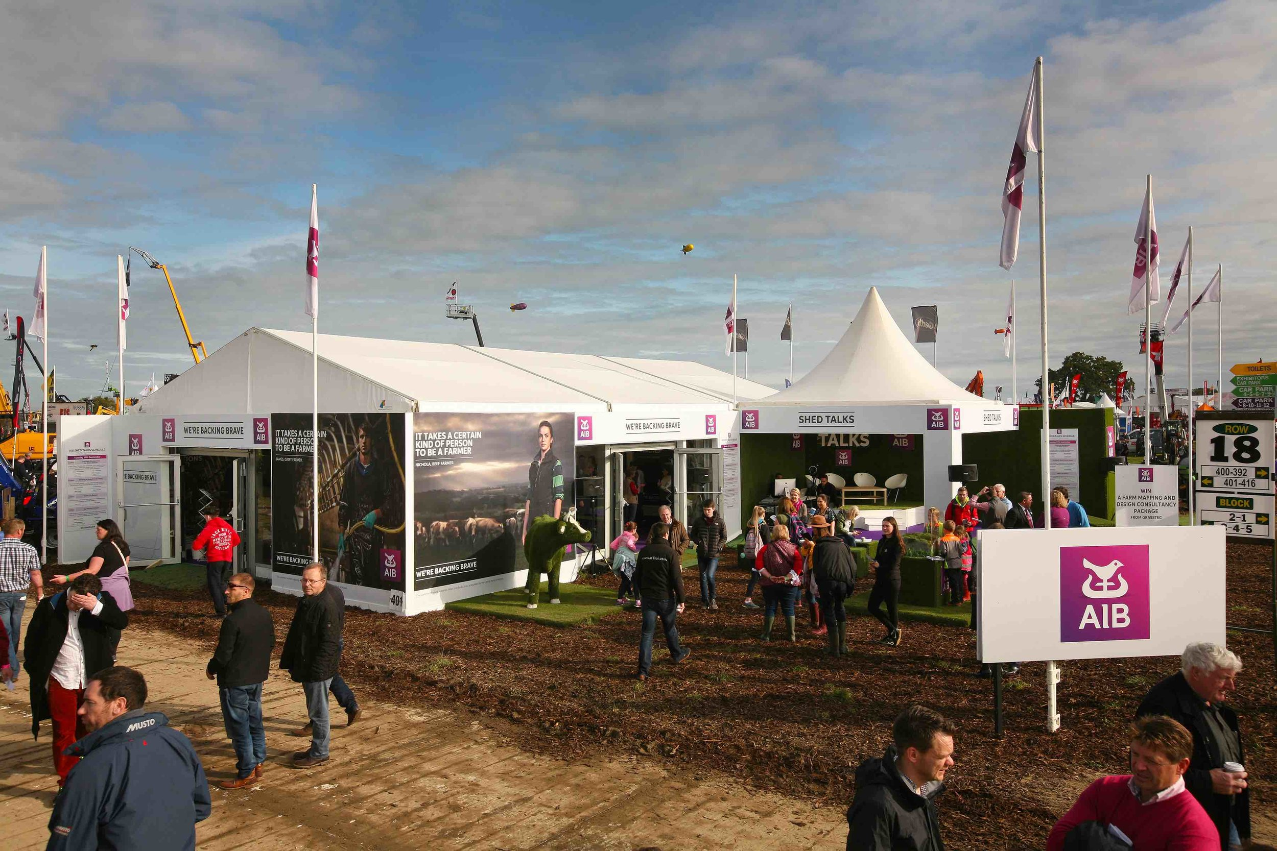 AIB Exhibition Stand at The National Ploughing Championships 2017