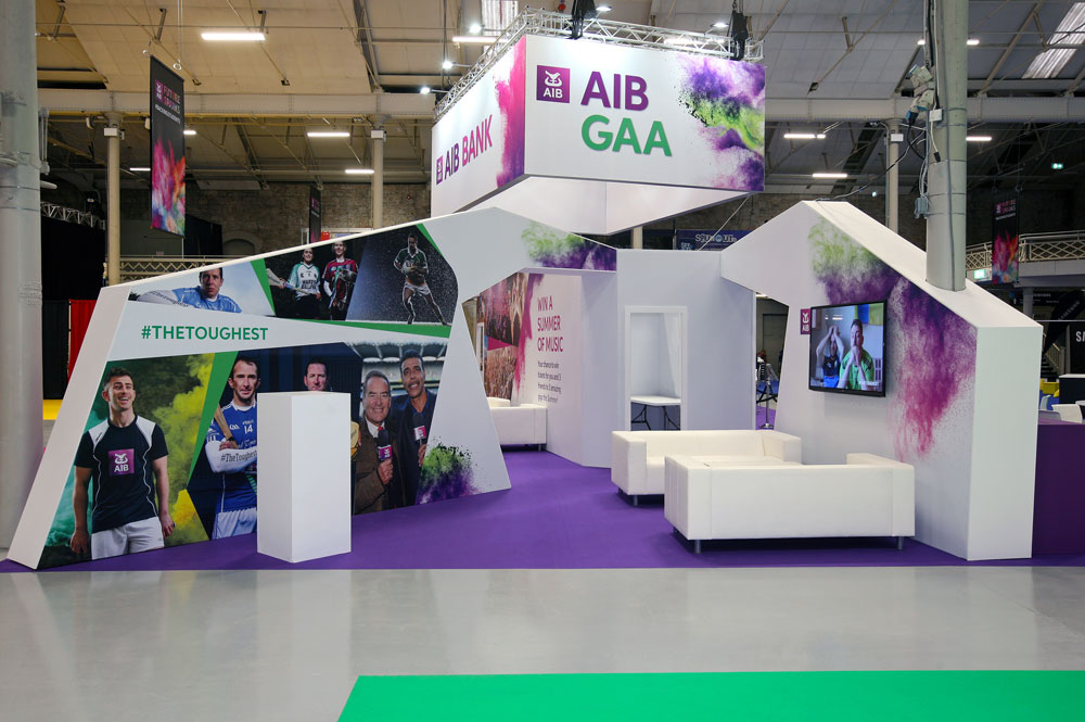 AIB Future Sparks Festival with display by W Display