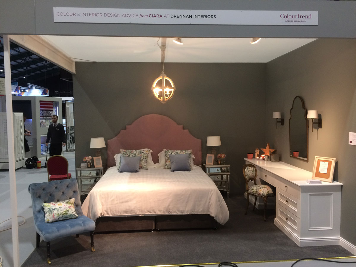Colourtrend Bedroom Stand at Ideal Homes Show
