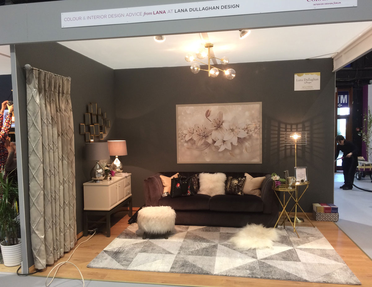 Colourtrend Sitting Room at Ideal Homes Show
