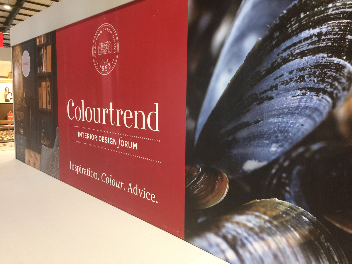 Colourtrend Exhibition Stand at Ideal Homes Show