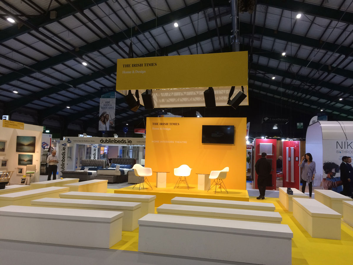 Irish Times Theatre Stage at Ideal Homes Show