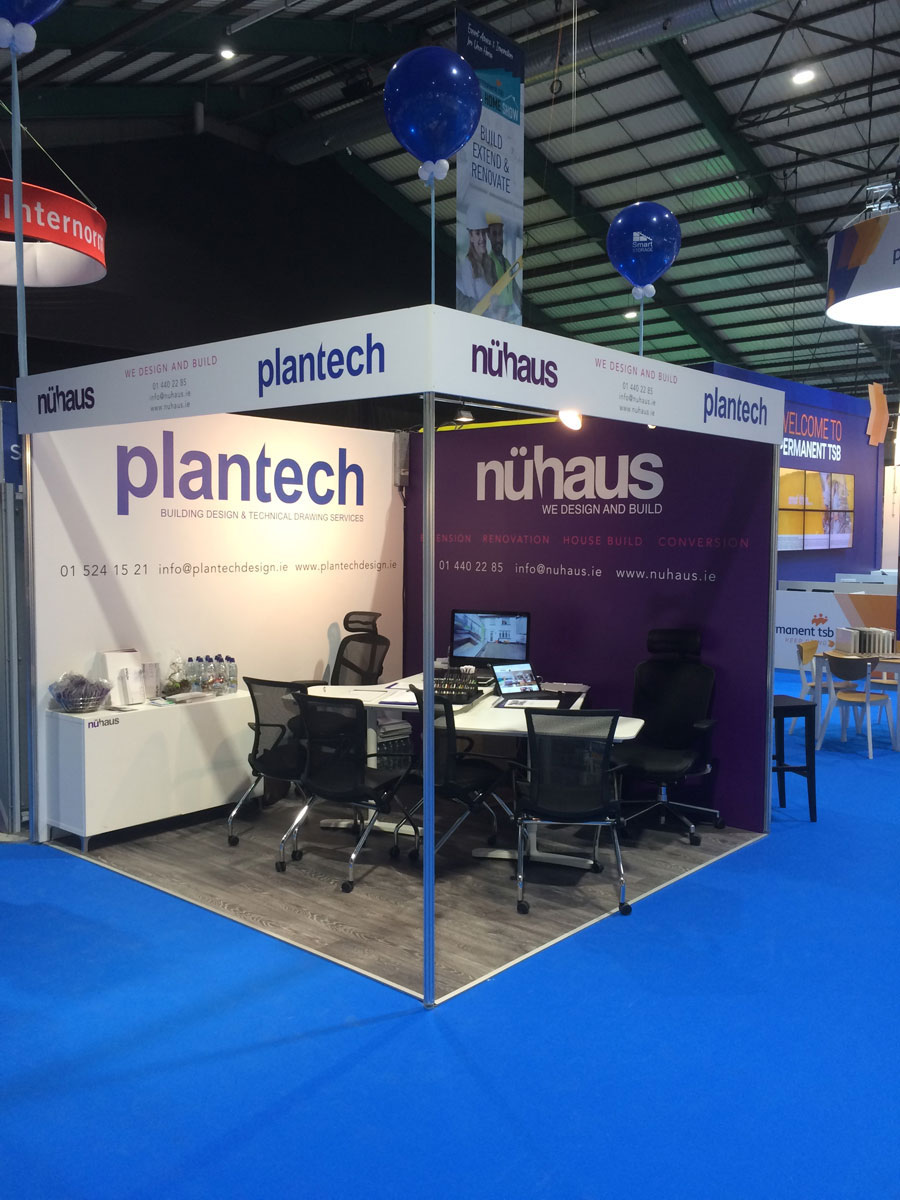 Nuhaus Exhibition Stand at the Ideal Homes Show