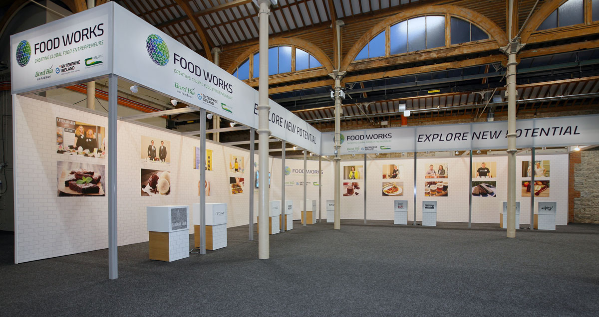 Foodworks Bord Bia Exhibition Stand Board Bia Marketplace