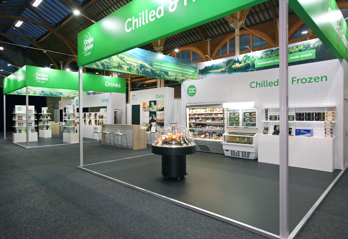 Origin Green Exhibition Stand Board Bia Marketplace